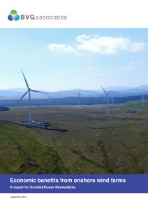 Economic impact of onshore wind farms