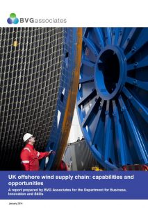 UK offshore wind supply chain: capabilities and opportunities BVGA offshore wind consultants report