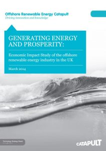 11. Generating Energy and Prosperity Economic impact of offshore renewable energy in the UK March 2014 BVGA published report