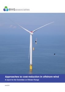 Approaches to cost-reduction in offshore wind 2015 BVGA offshore wind consultants report
