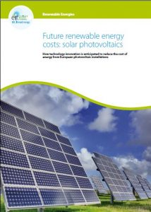 KIC Future renewable energy costs: solar photovoltaics January 2016