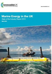 Marine Energy in the UK March 2012
