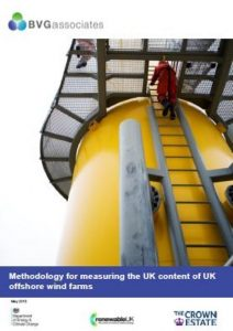 Methodology for measuring UK content for UK offshore wind farms May 2015 BVGA offshore wind consultants report