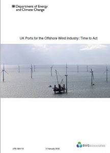 UK Ports for the Offshore Wind Industry: Time to Act BVGA offshore wind consultants report