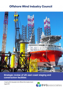 Strategic review of UK east coast staging and construction facilities BVGA Published Reports