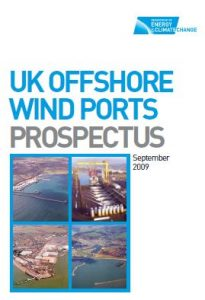 UK offshore wind Ports prospectus September 2009 BVGA published report