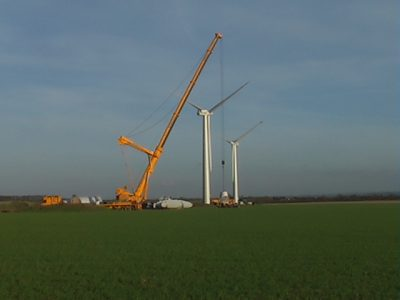 Post-consent wind farm development