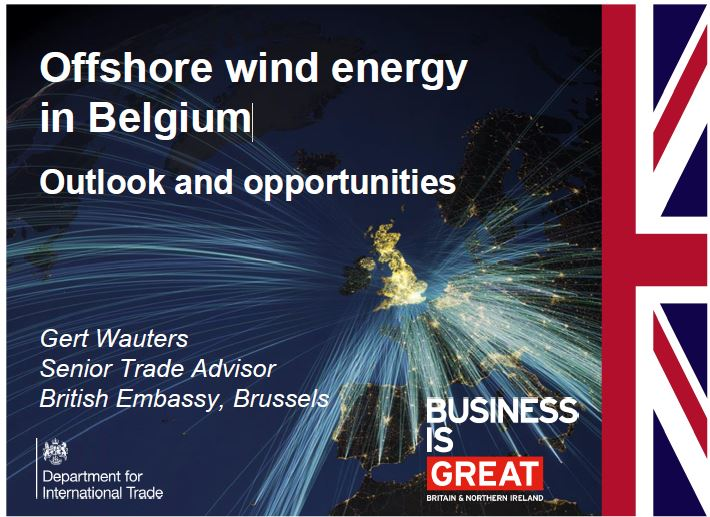 Offshore wind energy in Belgium