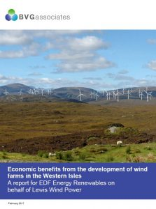 Economic benefits from the development of wind farms in the Western Isles