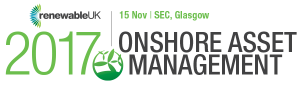 RenewableUK Onshore Asset Management 2017