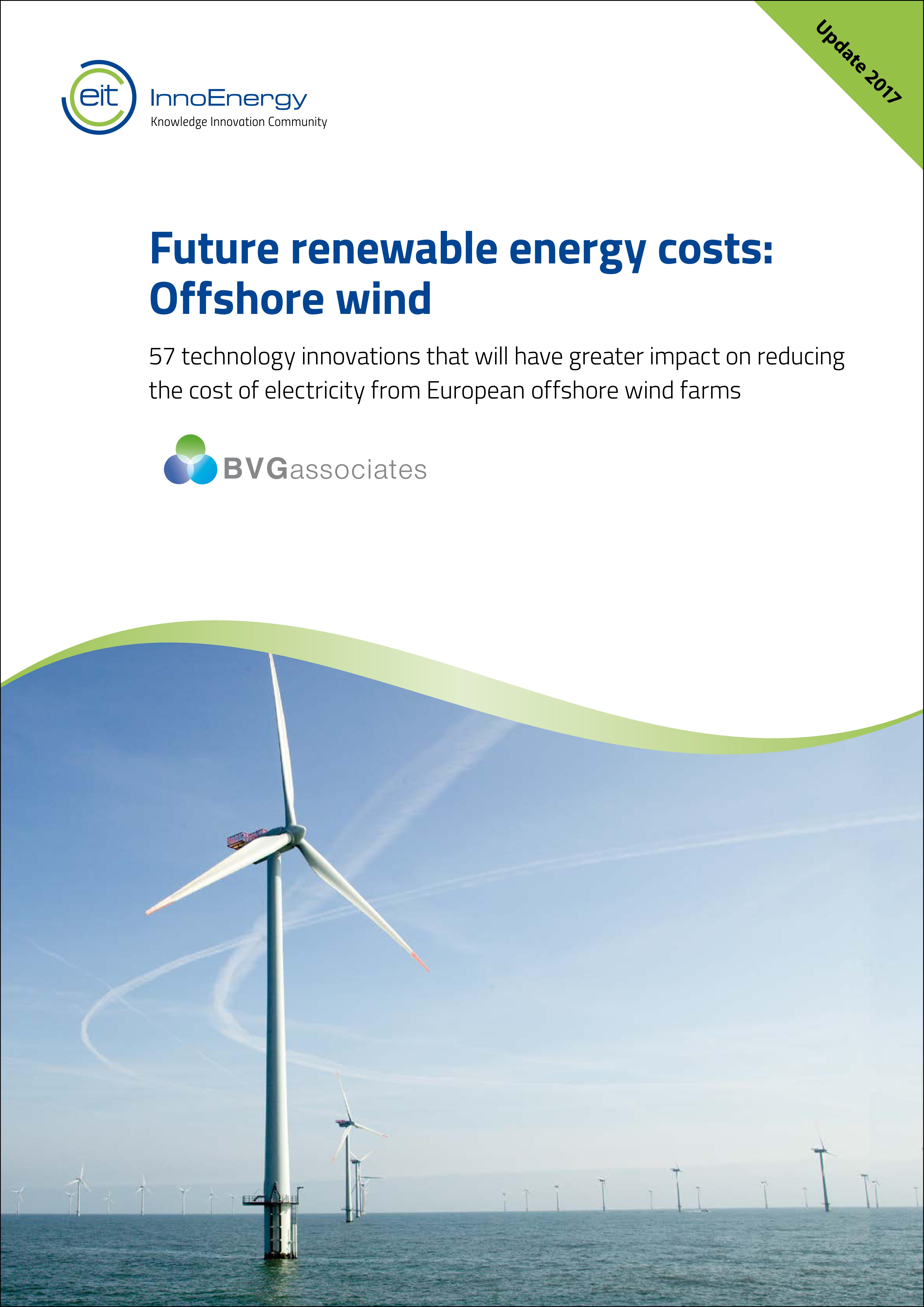 Updated future costs of energy for offshore wind BVG Associates