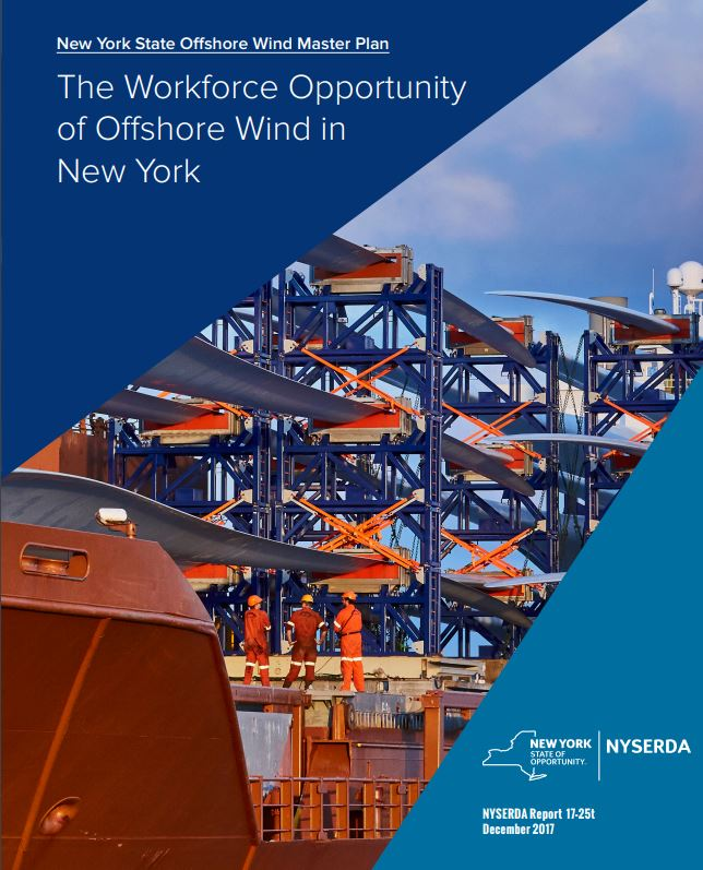 New York offshore wind master plan