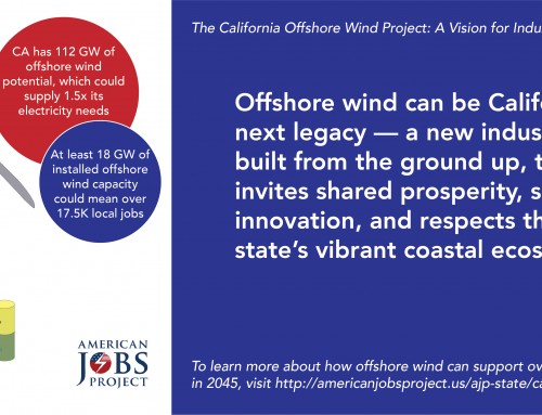 Offshore wind could support over 17,500 new jobs in California