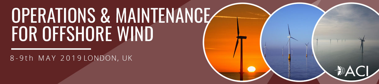 Operations & Maintenance for Offshore Wind conference