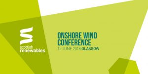 Scottish Renewables Onshore Wind Conference 2019
