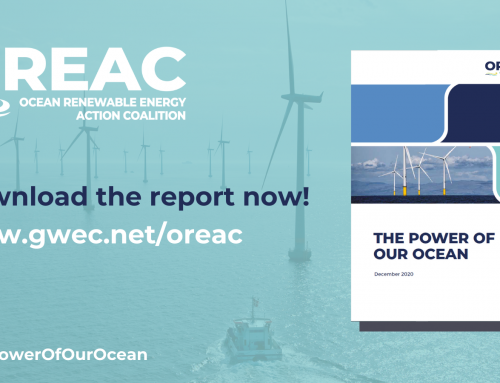 OREAC: 1400 GW of offshore wind by 2050 achievable with increased government commitment and collaboration