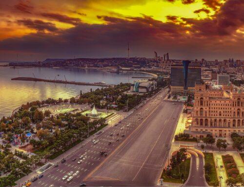 Azerbaijan offshore wind potential